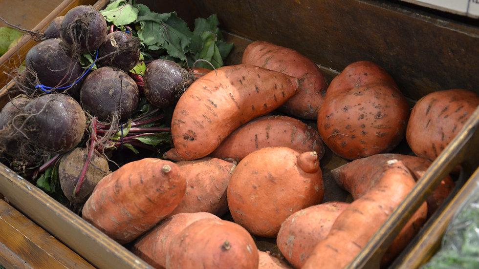 Sweet Potatoes (£/500g)