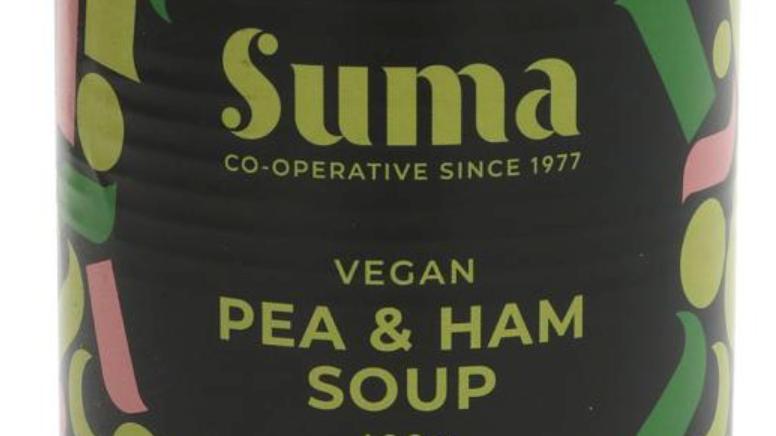 Suma Vegan Pea & Ham Soup 400g (£/each)