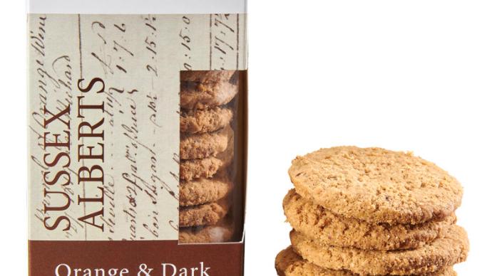 Horsham Gingerbread Bakehouse Orange & Dark Choc Sussex Alberts 175g (£/each)