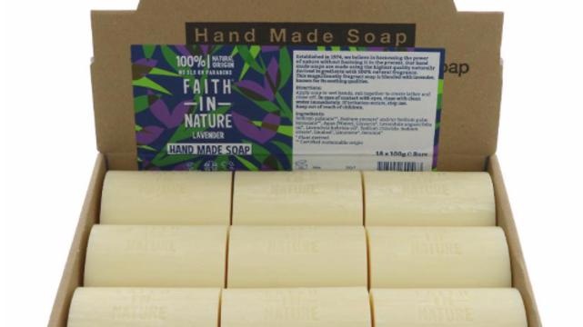 Faith in Nature - Loose Soap Bar 100 grams - Lavender (£/each)