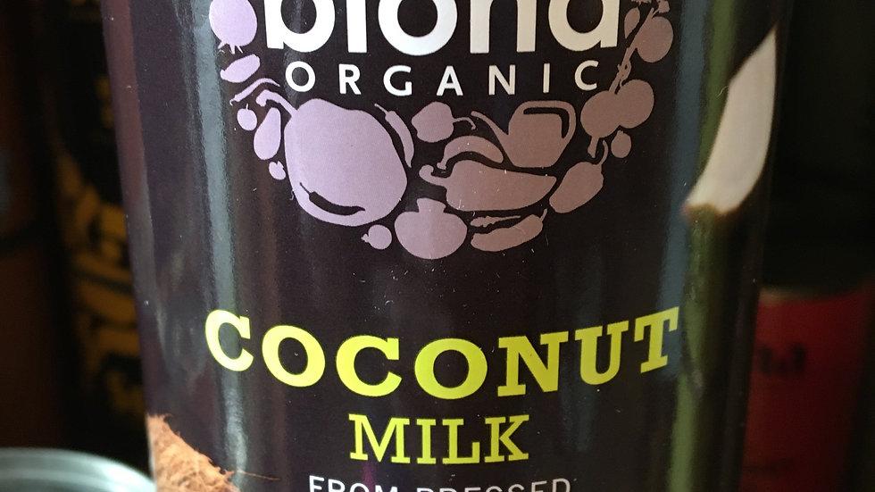 Biona Organic Coconut Milk 400ml (£/each)