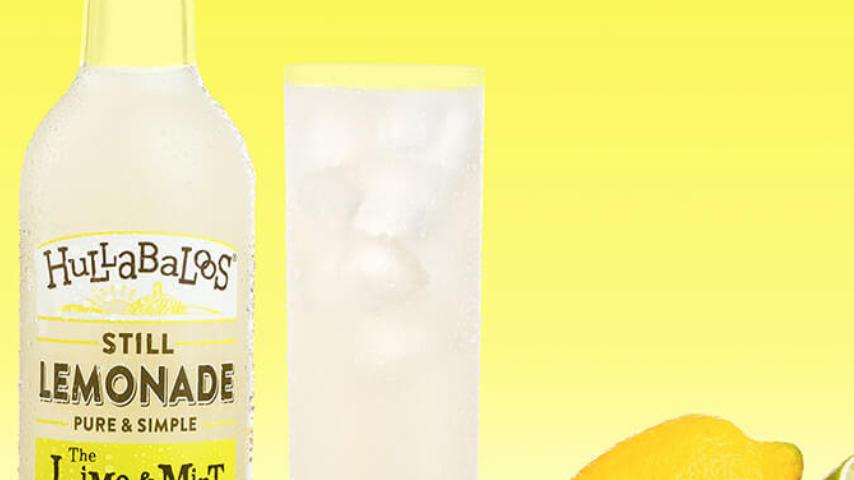 Hullabaloos Still Lemonade The Lime & Mint One 750ml (£/each)