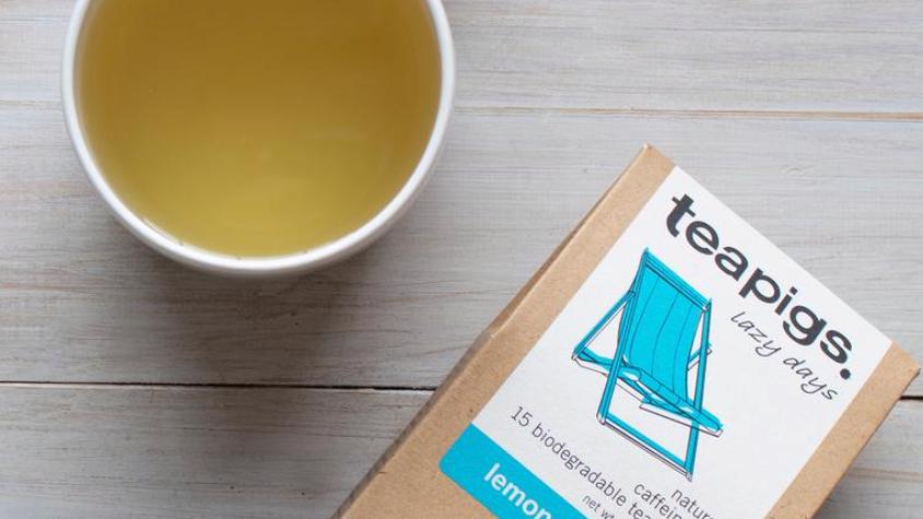 Teapigs - Lemon & Ginger Tea - 15 Tea Temples (£/pack)
