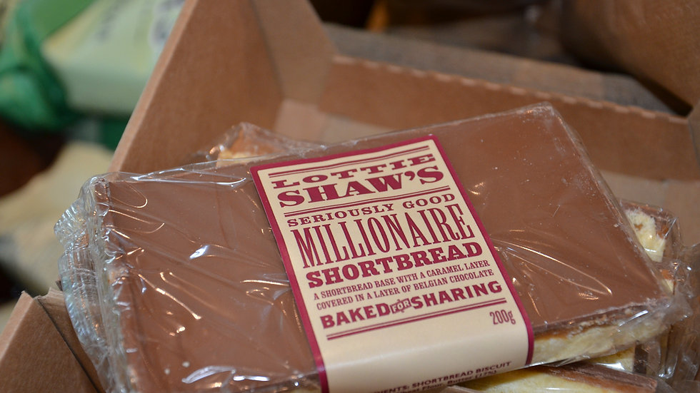 Lottie Shaw's - Millionaire Shortbread (£/each)