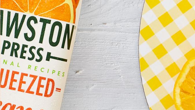 Cawston Press Squeezed Orange Juice 1 litre (£/each)