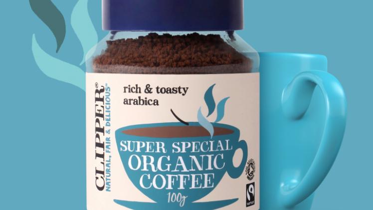 Clipper - Organic & Fairtrade Instant Coffee 100g (£/each)