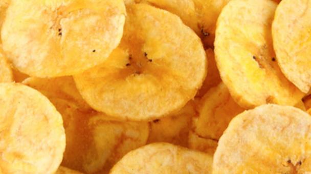 Dispensed Organic Banana Chips (£/100g)