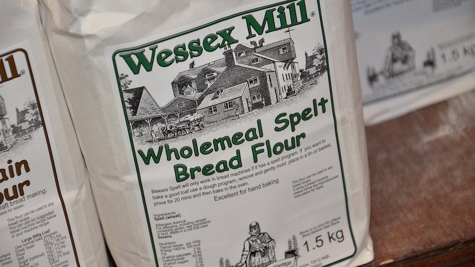 Wessex Mill - Wholemeal Spelt Bread Flour (£/each)