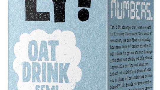 Oatly Oat Drink Semi 1 litre (£/each)
