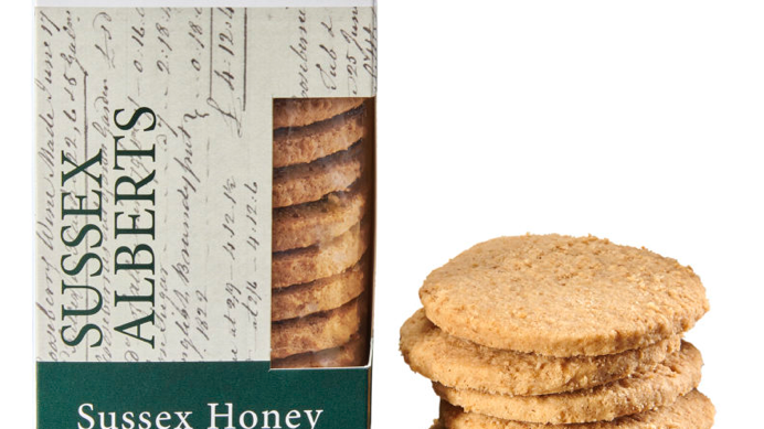 Horsham Gingerbread Bakehouse Sussex Honey Alberts 175g (£/each)