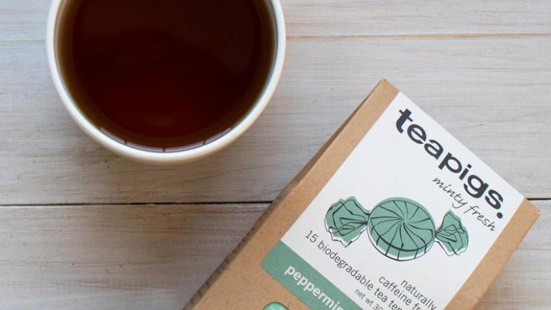 Teapigs - Peppermint Leaves - 15 Tea Temples (£/pack)
