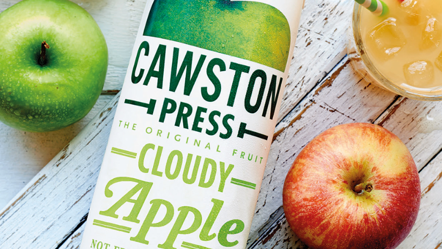 Cawston Press Cloudy Apple Juice 1 litre (£/each)