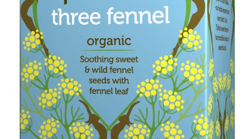 Pukka Teas - Three Fennel - 20 Tea Sachets (£/pack)