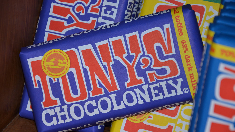 Tony's Chocolonely - Milk Chocolate, Pretzel & Toffee (£/each)