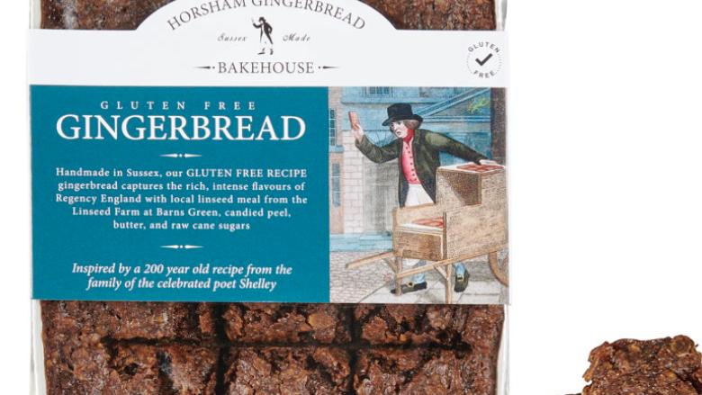 Horsham Gingerbread Bakehouse Gluten Free 300g (£/each)