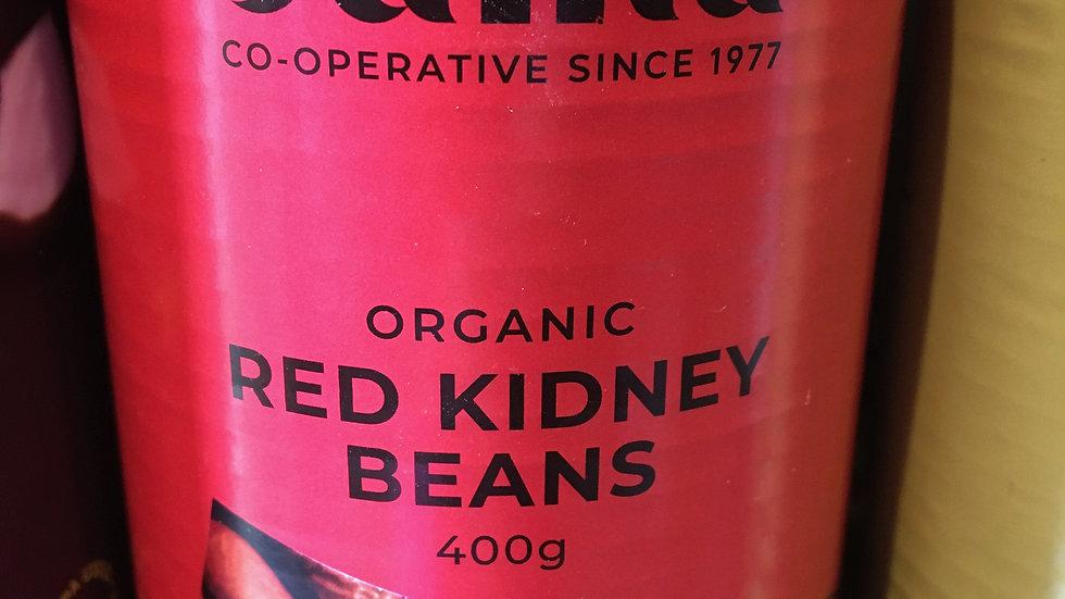 Suma Organic Red Kidney Beans 400g (£/each)