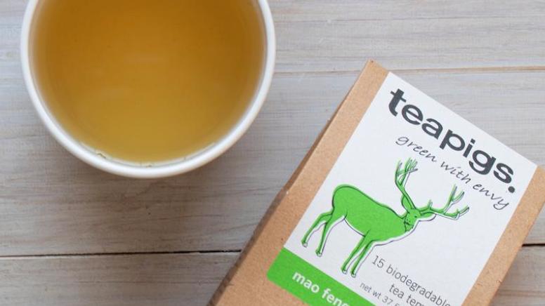 Teapigs - Mao Feng Green Tea - 15 Tea Temples (£/pack)