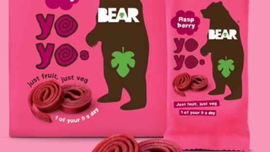 Bear Yo Yos Real Fruit Raspberry Rolls 20g (£/each)
