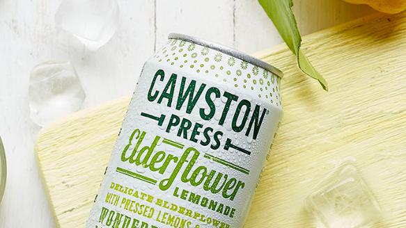 Cawston Press Sparkling Elderflower Lemonade 330ml (£/each)