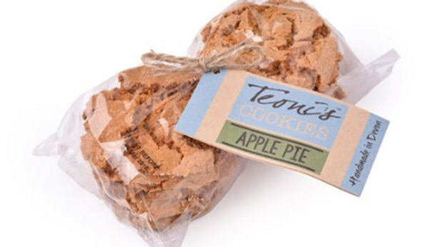 Teoni's Cookies - Apple Pie Oat Crunch 300g (£/pack)