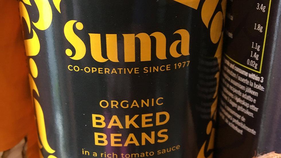 Suma Organic Baked Beans 400g (£/each)