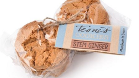 Teoni's Cookies - Stem Ginger Oat Crunch 300g (£/pack)
