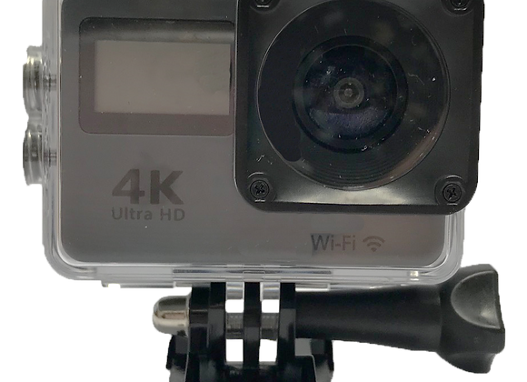 """WC1043 4K Dual Screen Touch Screen Wi-Fi Sports Action Camera with 2"""" LCD Screen"""
