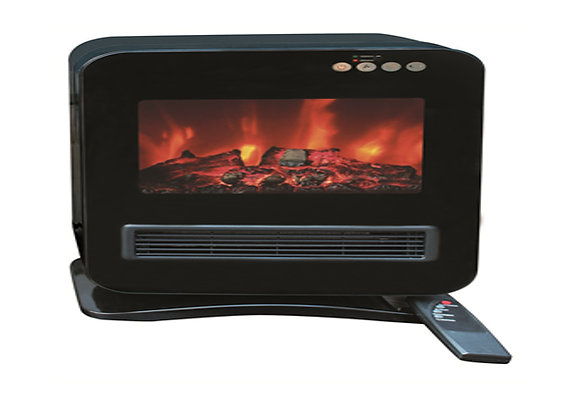 Fireplace Flame Effect  Electric Heater with Remote Control GHYH-08A