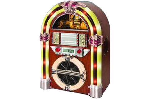 Vintage 50's Style Desk Top Jukebox