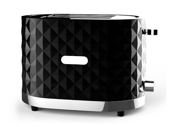 Diamond Black 2 Slice Toaster GCTR0201