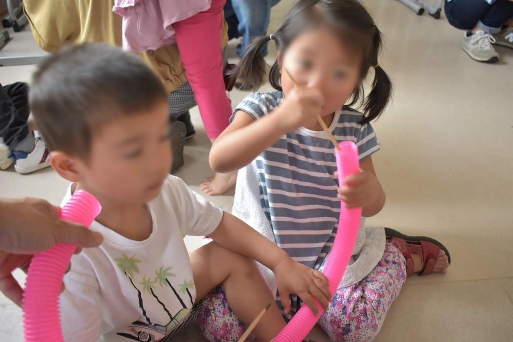 幼稚部:五感をフルに使った音楽体験