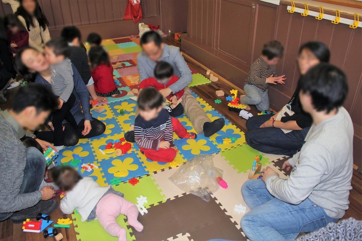 0~2歳児の家族交流会