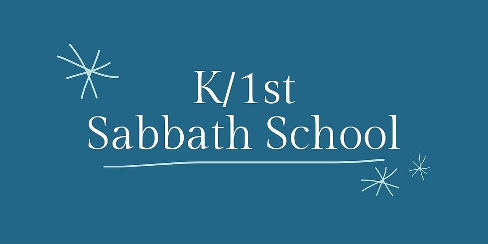 K/1st Sabbath School - February 13, 2021