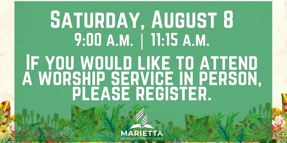 August 8 Church Registration