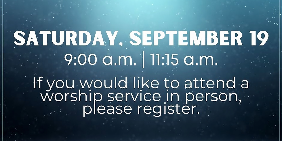 September 19, 2020 - Church Registration