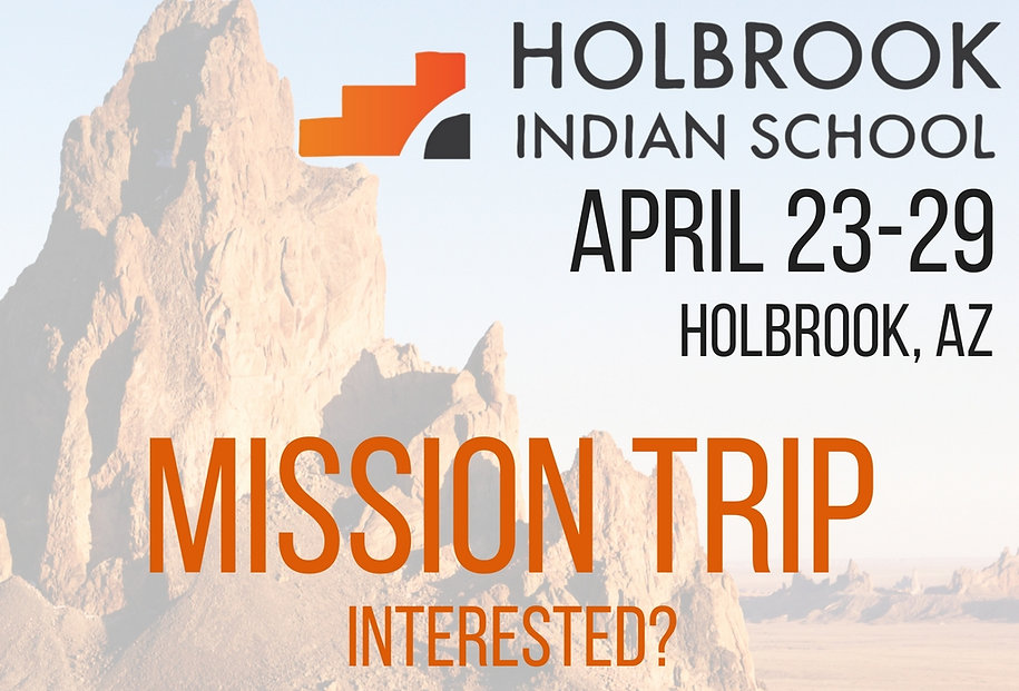Mariettaadventist Holbrook Indian School Mission Trip