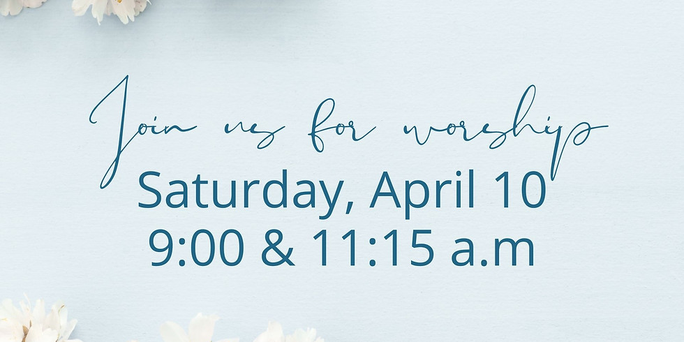 April 10, 2021 - Church Registration