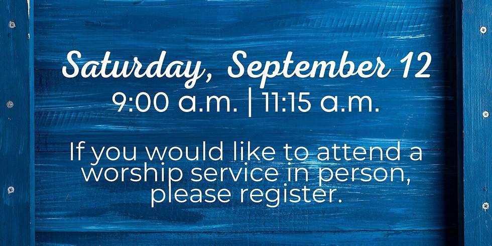 September 12, 2020 - Church Registration