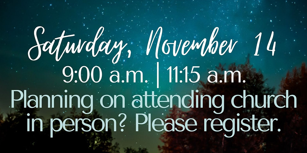 November 14, 2020 - Church Registration