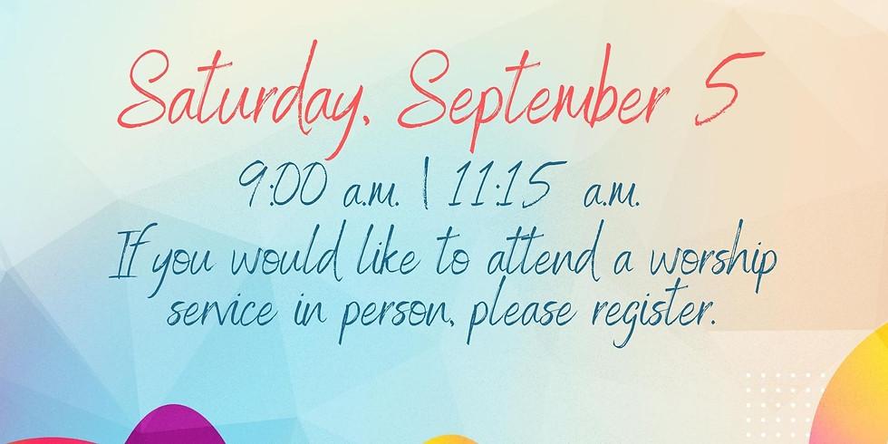 September 5, 2020 - Church Registration