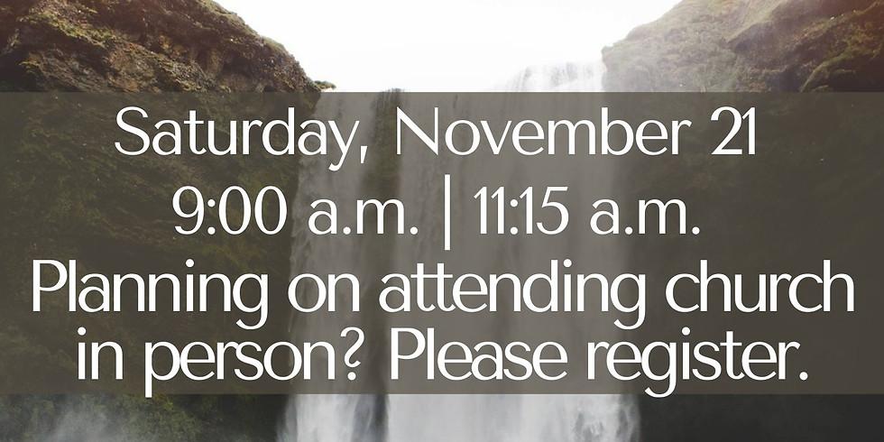 November 21, 2020 - Church Registration