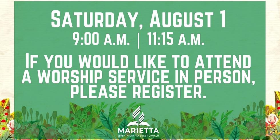 August 1st Church Registration