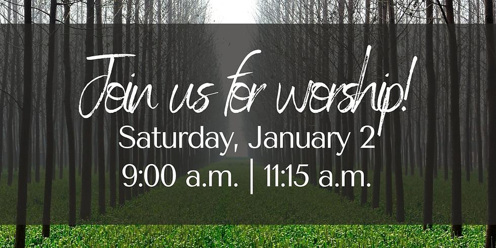January 2, 2021 - Church Registration