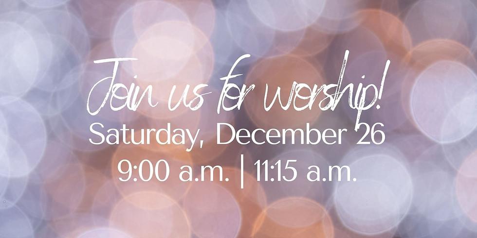 December 26, 2020 - Church Registration