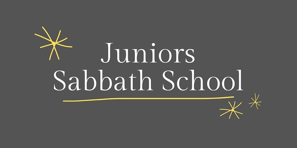 Juniors Sabbath School - February 6, 2021