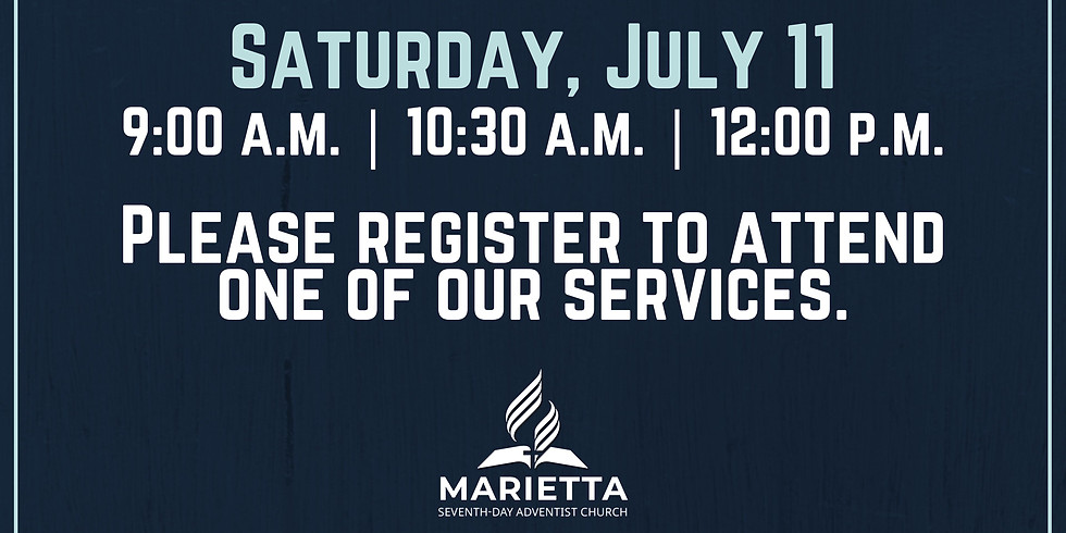 July 11 Church Registration