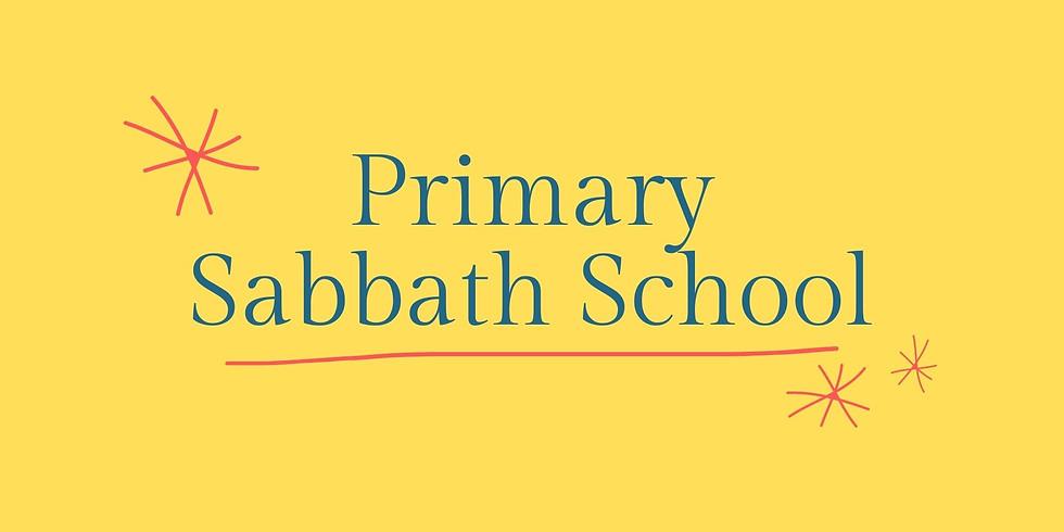 Primary Sabbath School - March 27, 2021