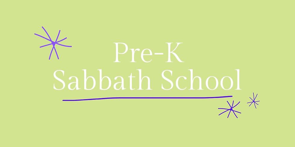 Pre-K Sabbath School - May 8, 2021