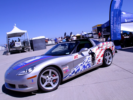 Paralyzed Veterans of America add a sleek new ride to their line up of Motorsports Vehicles, the Cor