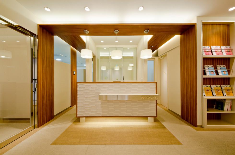 石上歯科医院|エーハンドデザイン株式会社 歯科内装デザイン設計事例